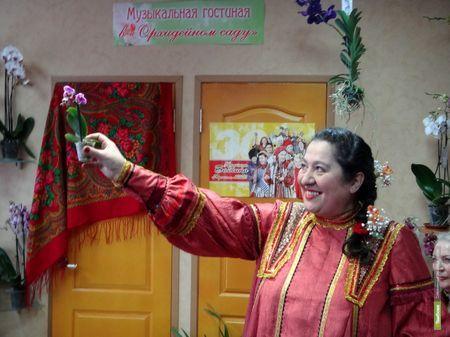 Ансамбль «Сударыня» выступит перед переселенцами из Украины