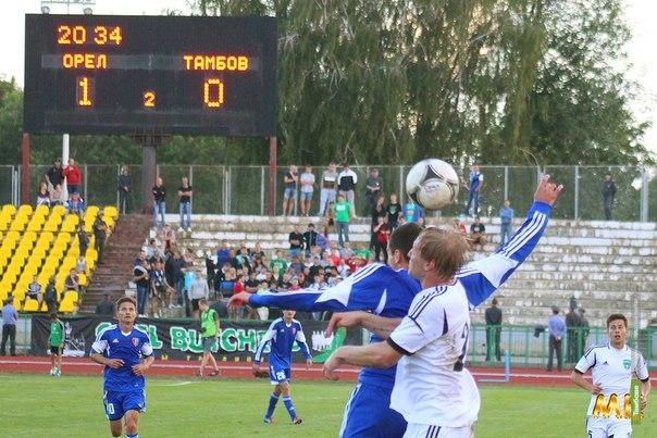 ФК «Тамбов» проиграл первый матч сезона