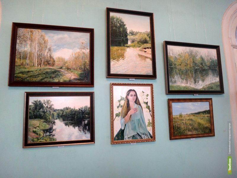Татьяна Тимиргалиева 3-й раз выставляет картины на Тамбовщине