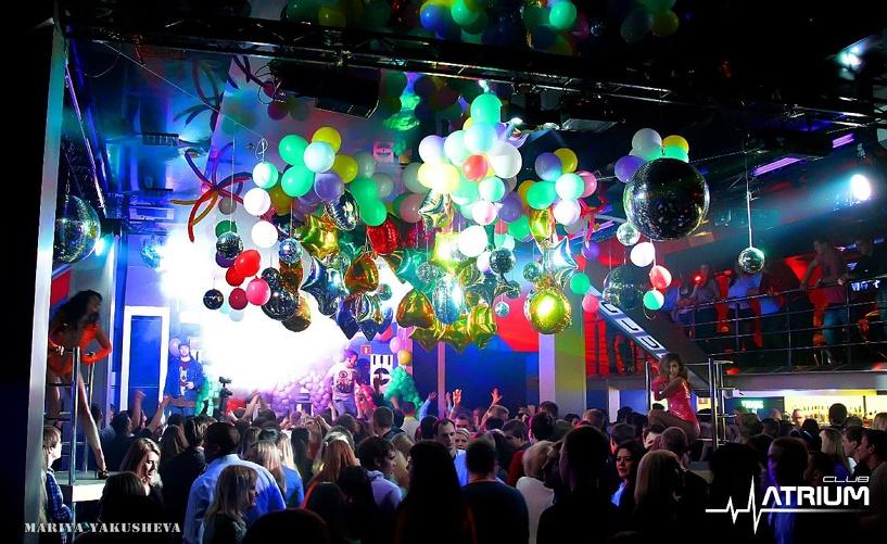 Ночной клуб «Atrium» приглашает тамбовчан на последние вечеринки