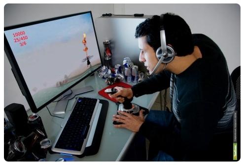 Каждый второй россиянин играет в компьютерные игры