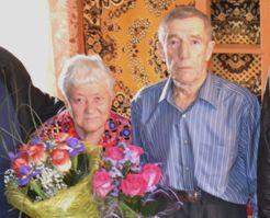 Пара из Рассказовского района отметила изумрудную свадьбу
