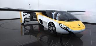 На выставке в Монако показали два летающих автомобиля