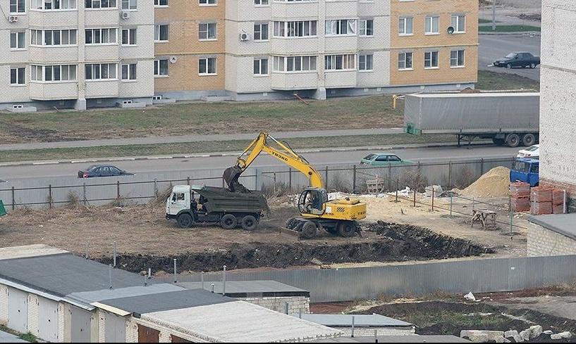 На севере Тамбова строится новый развлекательный центр