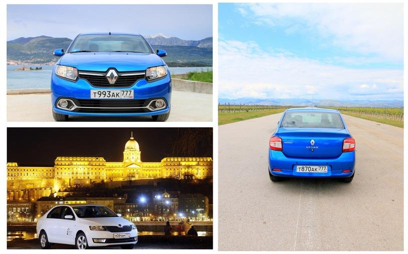 По карману: сравнительный тест-драйв Renault Logan и Skoda Rapid