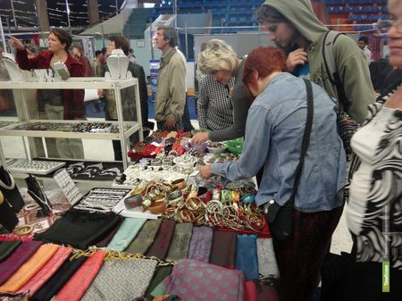 В Тамбове открылся индийский базар
