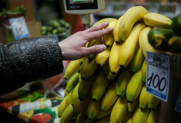 Из-за рублевой чунга-чанги цены на бананы за год подскочили в полтора раза