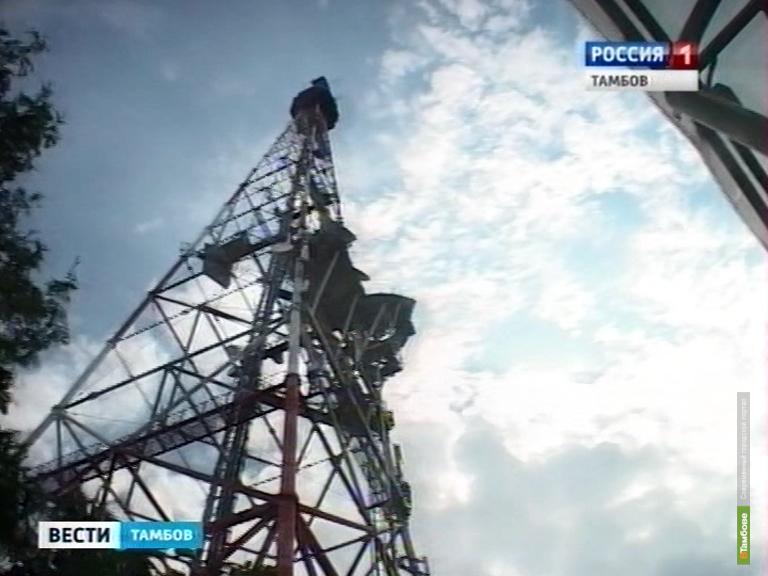 На два дня в Тамбовской области прекратится вещание ТВ-каналов