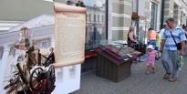 В Тамбове состоялся показ исторических экспонатов под открытым небом