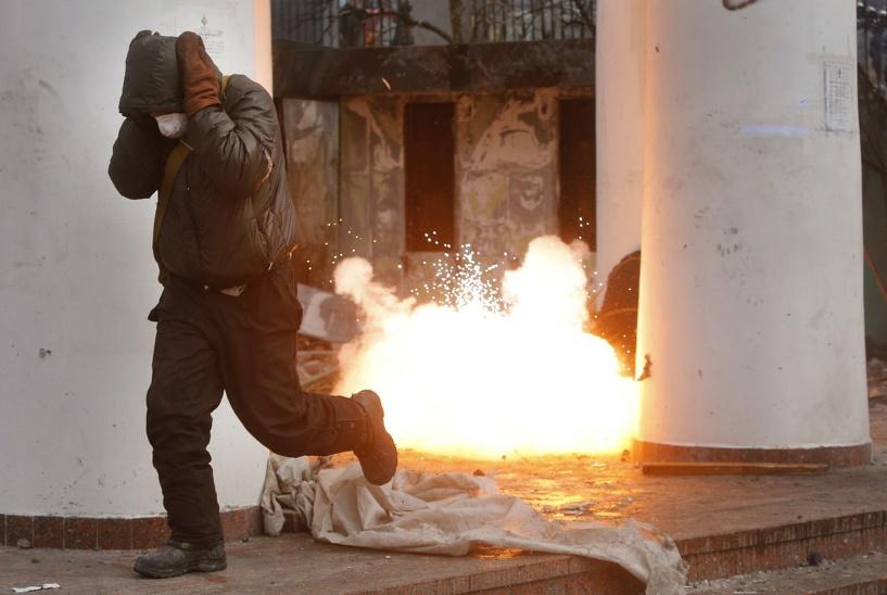 Вооруженные столкновения в Славянске принесли первые жертвы