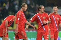 Сборная России по футболу в квалификации Евро-2016 сыграет со Швецией и Австрией