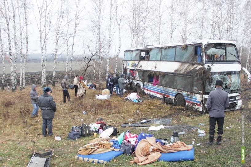 В тамбовской больнице остаются 4 пассажира махачкалинского автобуса