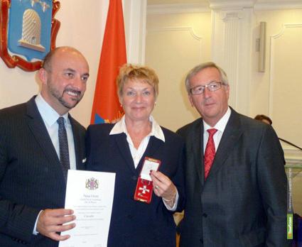 Филолог из Тамбова получила госнаграду Люксембурга