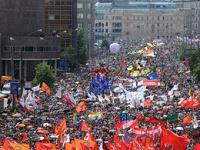 Митинги оппозиции 12 июня обошлись без массовых драк