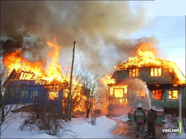 На Тамбовщине за минувшую неделю в огне погибли 8 человек