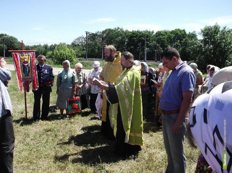 Через Тамбовщину проходит международный крестный ход
