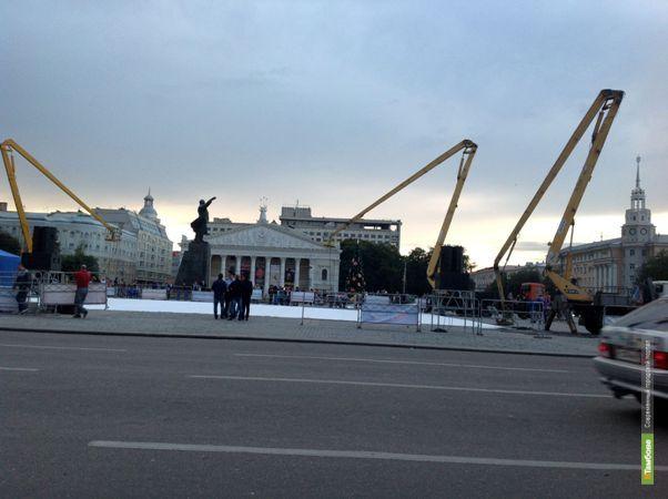Редакция портала ВТамбове побывала на съёмках «Елки-3»