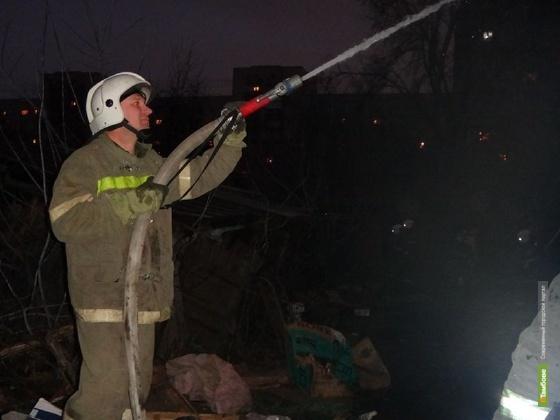 В Тамбове мужчина погиб на пожаре
