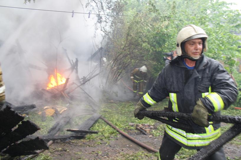 В Никифоровском районе при пожаре сгорели мужчина и собака
