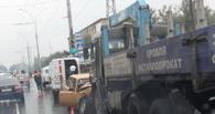 На Моршанском шоссе столкнулись три автомобиля
