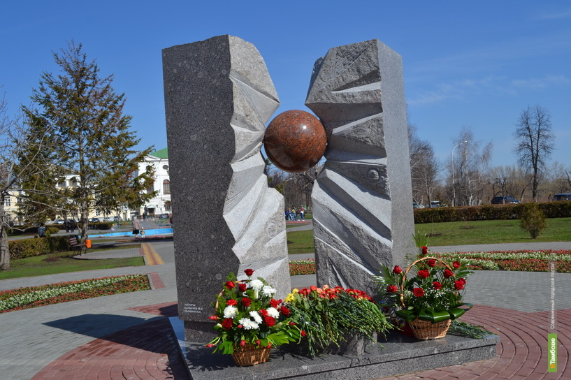В Тамбове установили памятник жертвам ядерных катастроф