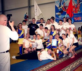 В финале кубка регионов России чирлидеры ТГТУ заняли первые места
