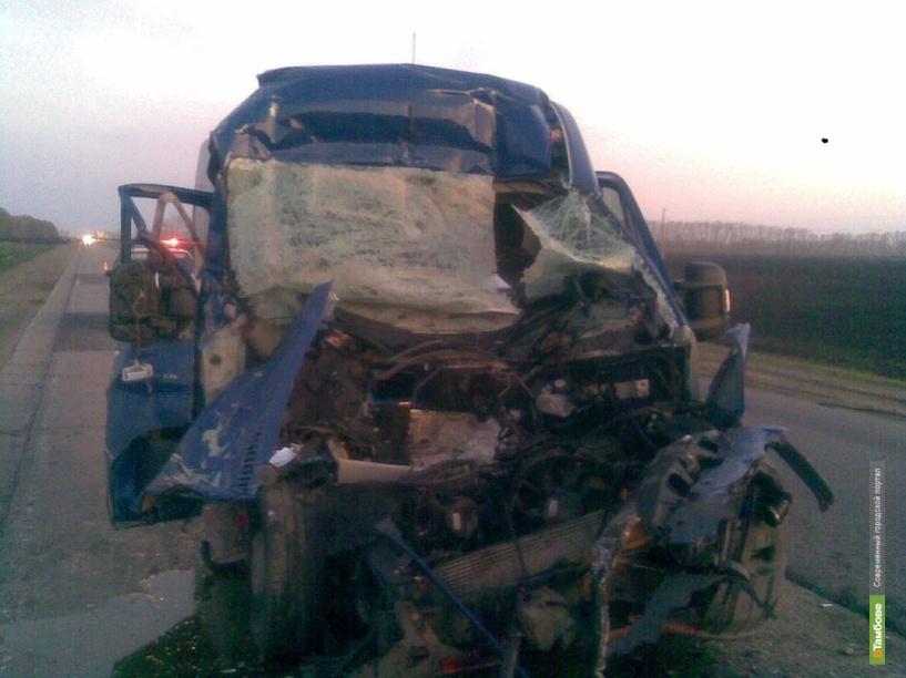 Тамбовский автобусник сбил пешехода