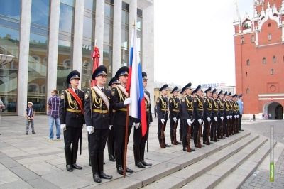 Тамбовчане будут охранять Кремль