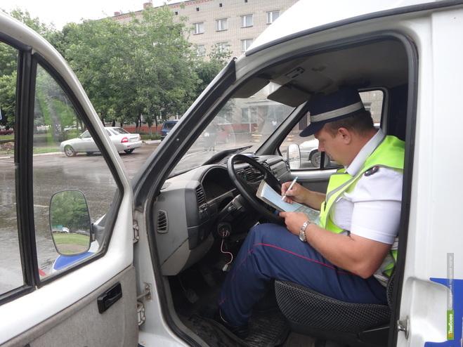 Тамбовских водителей ждет «алкогольная проверка»