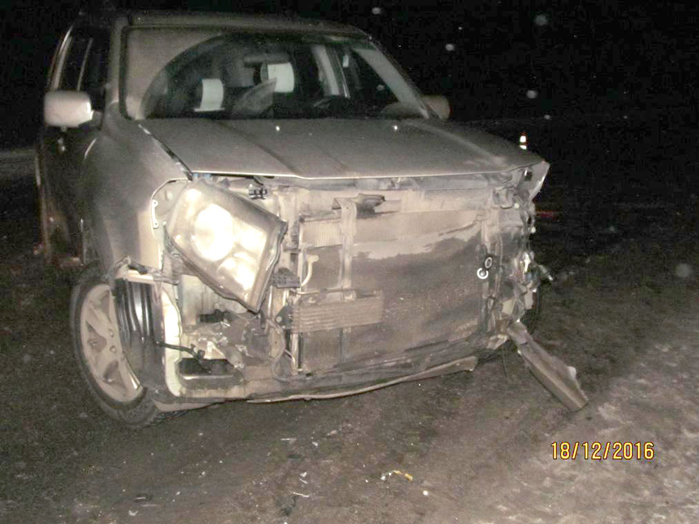 ВЖердевском районе вседорожный автомобиль протаранил BMW-525