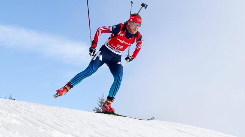 Биатлонистка Глазырина взяла серебро в гонке преследования на Кубке мира