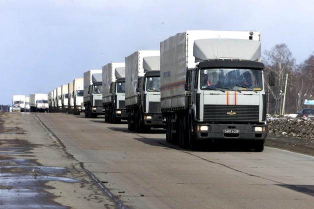МЧС доставило на Донбасс 1,8 тысячи тонн гуманитарной помощи
