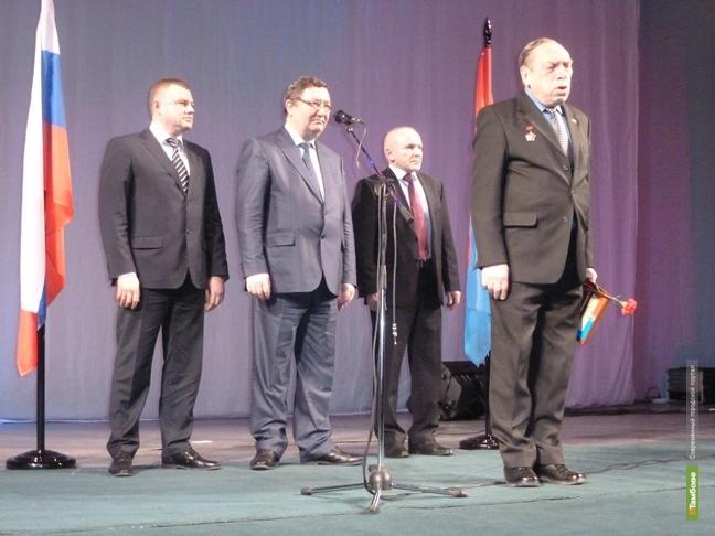 Тамбовские ветераны Афганистана получили ведомственные награды