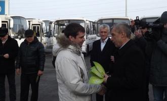 Пять муниципалитетов Тамбовщины получили новые газомоторные автобусы