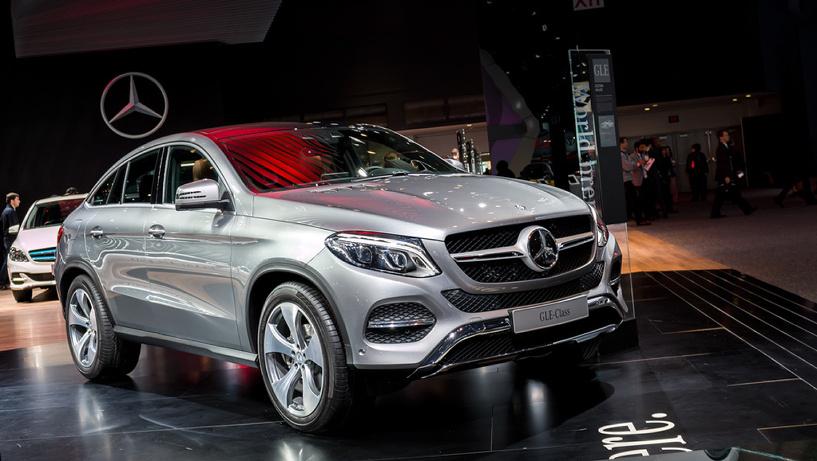 Mercedes рассказал, сколько стоит новый кроссовер GLE Coupe