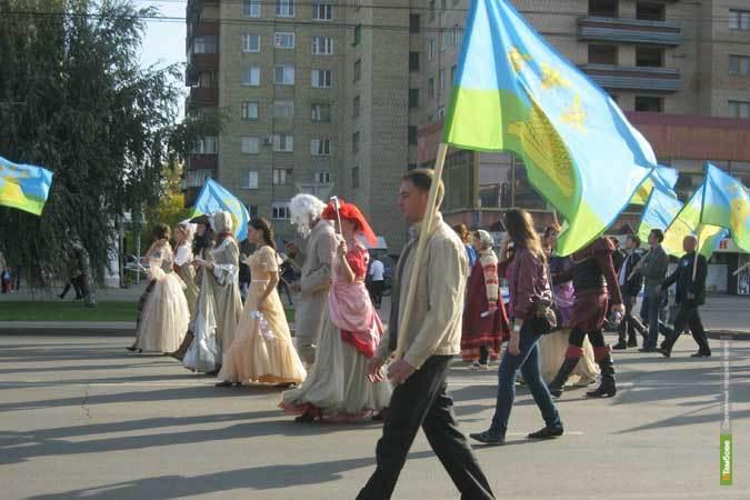 4 тысячи человек со всей Тамбовщины прошлись по центру города