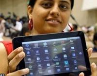 Индия представила планшетник стоимостью 35 долларов