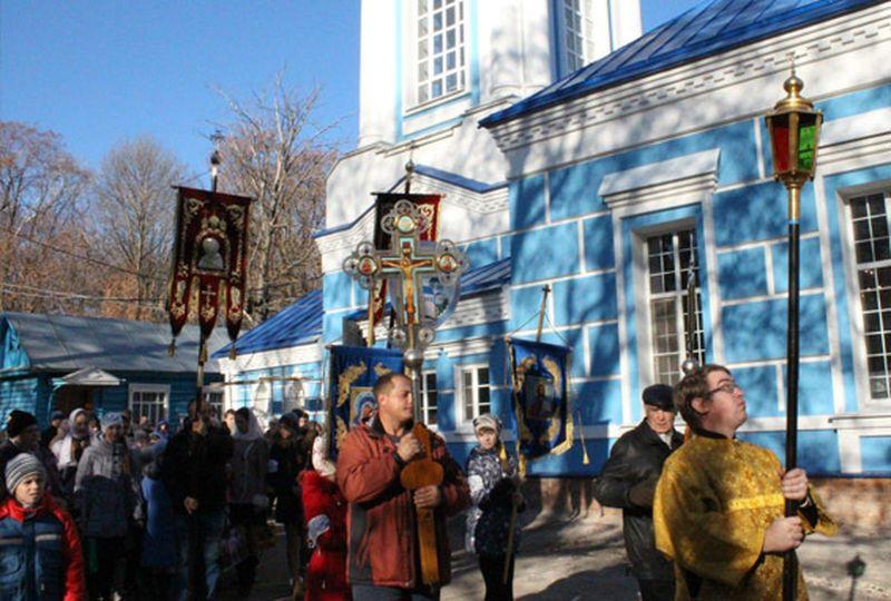 В Мичуринске появится новый крестильный храм