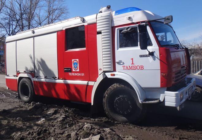 В Токарёвском психоневрологическом доме-интернате произошло возгорание