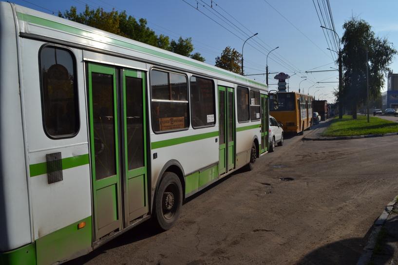 Бульвар Энтузиастов в Тамбове снова «встал»