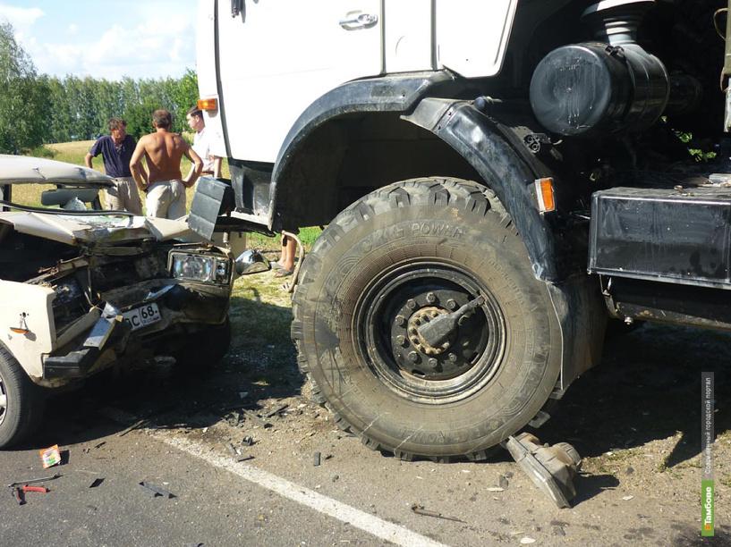 За неделю на дорогах Тамбовщины пострадали 5 детей