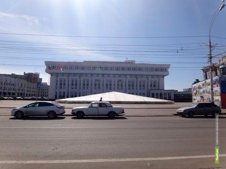 В городе остался «законсервированным» только один фонтан