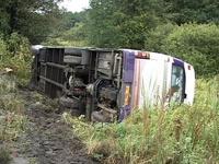 Названы предварительные причины ДТП автобуса с паломниками на Украине