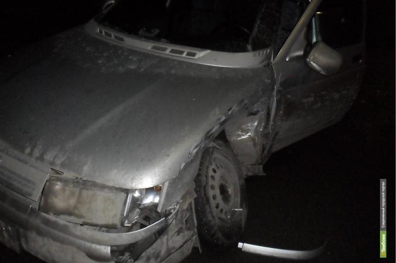 8 марта в Мичуринске столкнулись две «десятки»