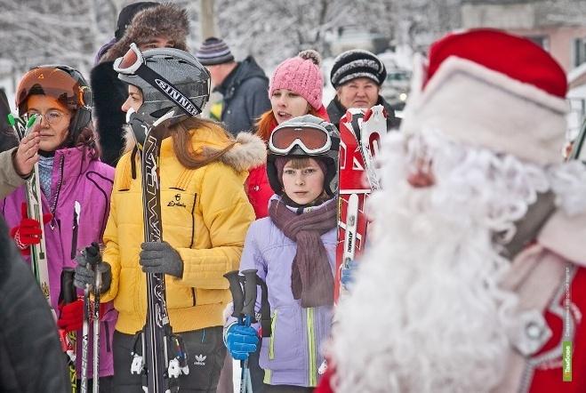 В Тамбове устроят забег Дедов Морозов