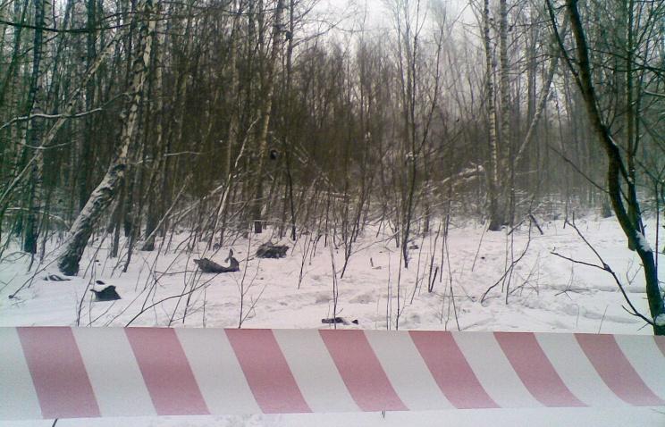 В ХМАО упал легкомоторный самолёт