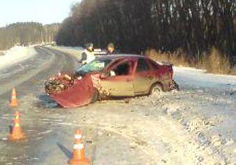 В Сосновском районе три человека пострадали в ДТП