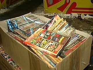 Две с половиной тысячи дисков изъяли полицейские в Инжавино