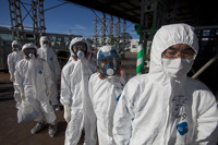Пробы воды с «Фукусимы-1» раздают бета-излучение