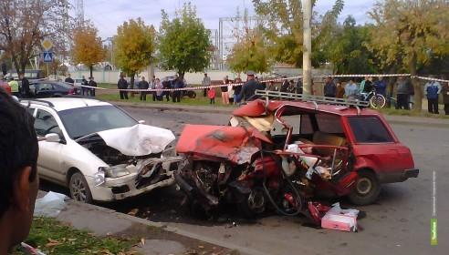 В Тамбове пьяный лихач на иномарке убил в ДТП троих человек